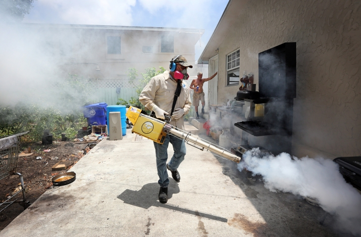 Zika outbreak in Miami